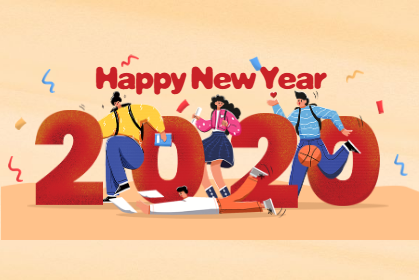 新年到,ballbet贝博网站全体员工为您送上2020真挚祝福!